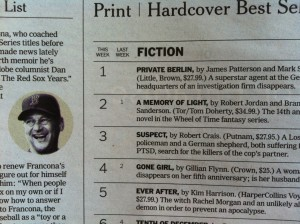 NYT Book Review Bestsellers
